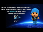 Pocoyo joins other YouTube creators to change climate change | Earth Hour 2015 #YourPower