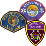 Downey Police and Fire, and Whittier Police - Los Angeles, US