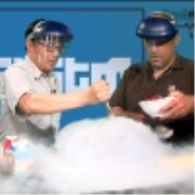 Systm 101: Liquid Nitrogen Makes Delicious Ice Cream in Under a Minute!