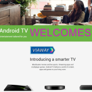 Android TV welcomes Viaway application with a slick new material design