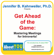 Get Ahead of the Game: Mastering Meetings for Introverts