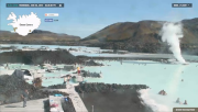 Blue lagoon Webcam - Iceland