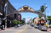 San Diego, Gaslamp Plaza - USA