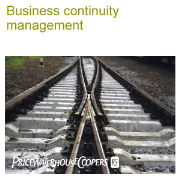 PricewaterhouseCoopers Business continuity management
