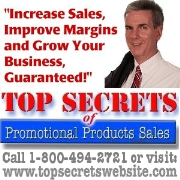 '--Top Secrets of Promotional Products Sales--'