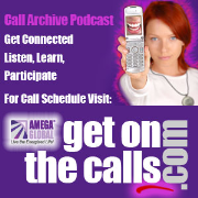 Amega Worldwide Inc - Get On The Calls! Conference Call Archive