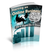 Starting an Online Business - Article Marketing