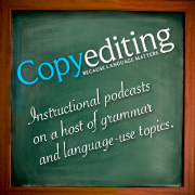 Listen Copyediting Podcast on Viaway