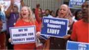 """Students Support LIU Professors in Contract Dispute: """"End the Lockout, Negotiate & Let Us Learn"""""""