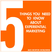The five things you need to know about Experiential Marketing