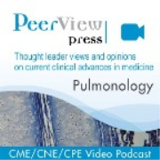 PeerView Pulmonology CME/CNE/CPE Video Podcast
