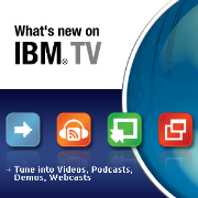 What's new on IBM TV