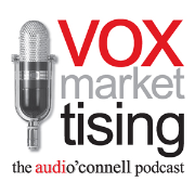 audio'connell's voxmarketising - where the worlds of voiceover, marketing and advertising collide!