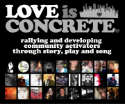 LOVE IS CONCRETE phlog