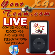 Your X-Go Team Conference Call Podcast