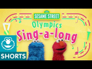 Sesame Street: Olympic Athletes Sing Sunny Days with Elmo and Cookie Monster