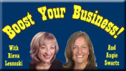 Boost Your Business Radio Hour with Rieva and Angie