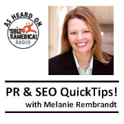PR and SEO Quick Tips with Melanie Rembrandt