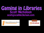 Gaming in Libraries - The Course