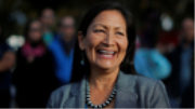 Newly Elected Native Congresswoman Deb Haaland on Climate Change and Suppression of Native Votes