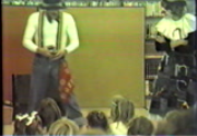 Irena and Joco perform at the Emily Fowler Library, 1985.