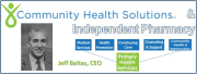 Pharmacy Podcast Episode 46: Community Health Solutions & Independent Community Pharmacy