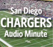 San Diego Chargers Audio Minute