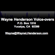 Waynes Take on FRiNGE #18 by Wayne Henderson Voice-Overs, (206) 984-1446, Feedback-Dreamscape