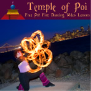 One Minute Poi Lesson: Overhand 5 Beat Weave