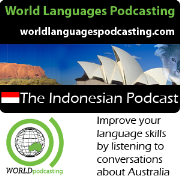 Indonesian Podcast - Improve your Indonesian language skills by listening to conversations about Australian culture