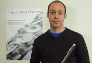 Ian Mullin tests the Trevor James 10x flute