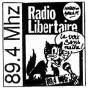 Radio Libertaire - 89.4 FM - Paris, France